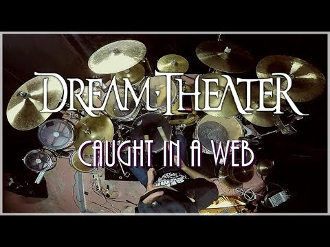 DREAM THEATER  - Caught In A Web - Drum Cover