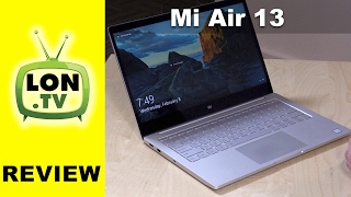 Xiaomi Mi Air 13 Review – 13.3″ Laptop with GPU!