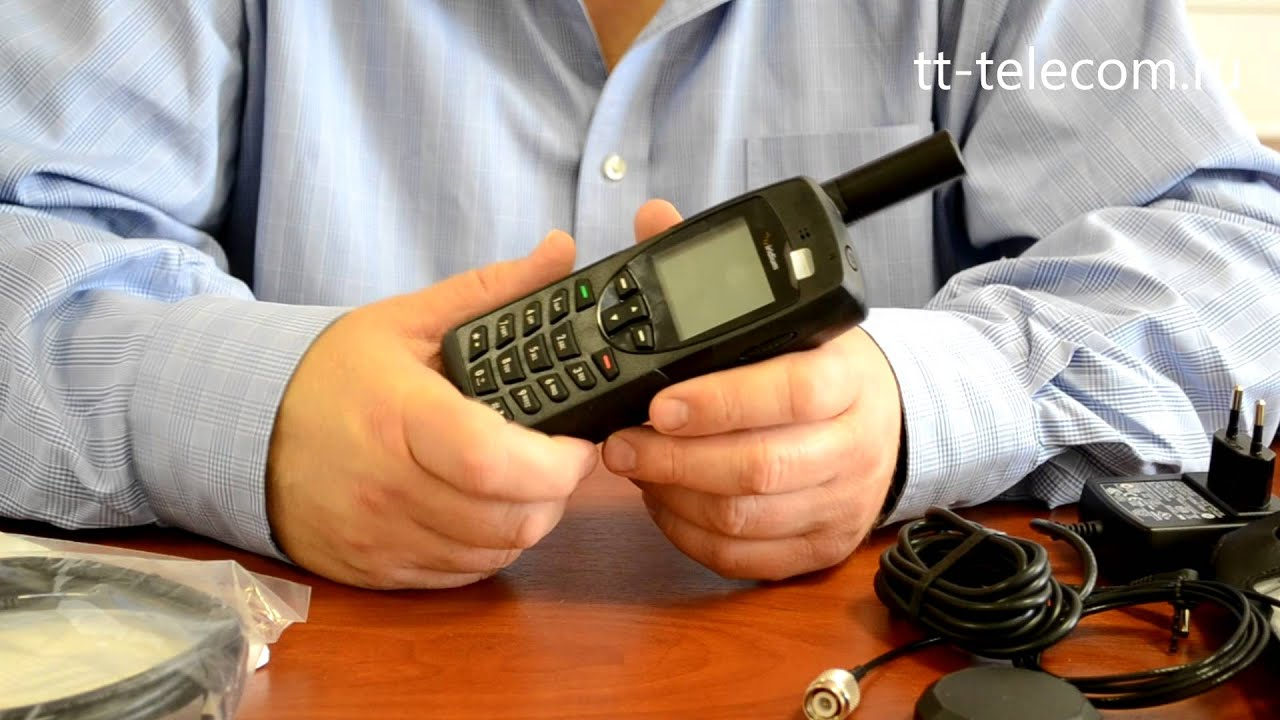 Спутниковый телефон Iridium 9555 - обзор