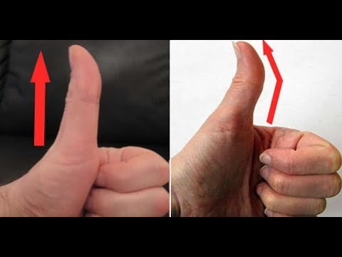 Thumb vs finger