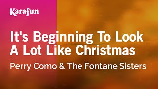 Download Karaoke It's Beginning To Look A Lot Like Christmas - Perry Como * MP3 song and Music Video