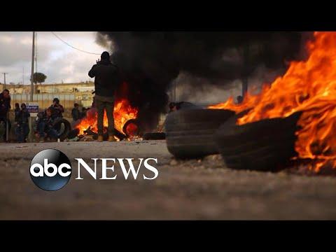 Palestinians, Israeli forces clash after Trump's Jerusalem decision