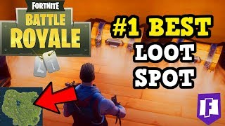 #1 BEST SECRET LOCATIONS ON NEW MAP| HIDDEN CHEST LOOT FORTNITE BATTLE ROYALE