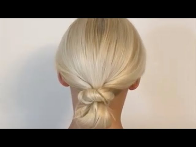 How to create Chic easy low bun
