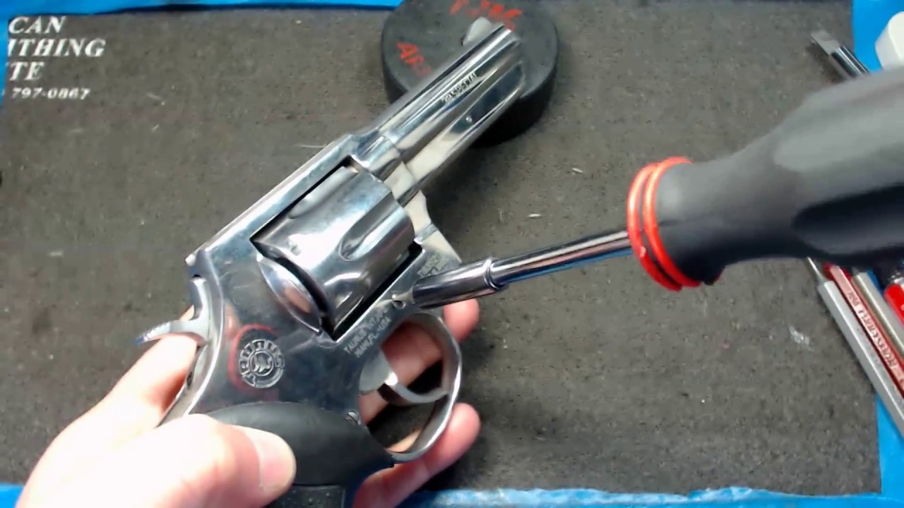 Taurus 82 38 Special Revolver Complete Disassembly And