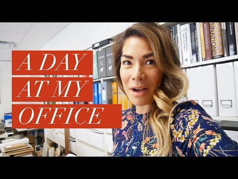 A day at my Interior Design office