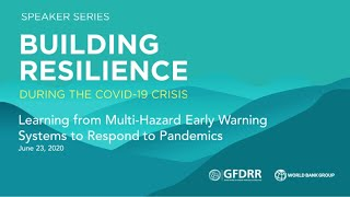 Learning from Multi-Hazard Early Warning Systems to Respond to Pandemics