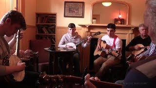 BLUEGRASS SESSION, McGing's Pub, Westport's 11th Folk & Bluegrass Festival. Mayo, Ireland 2017