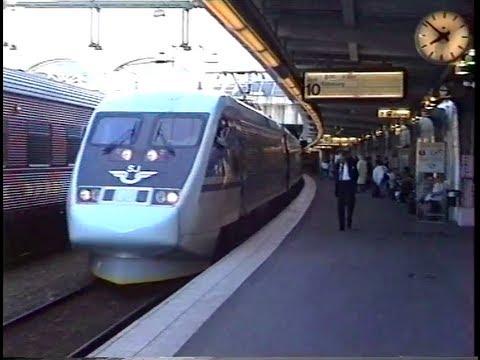 1994 Rail Trip Scandinavia 5000km