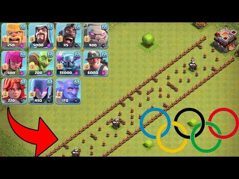 CLASH OF CLANS OLYMPIADE!