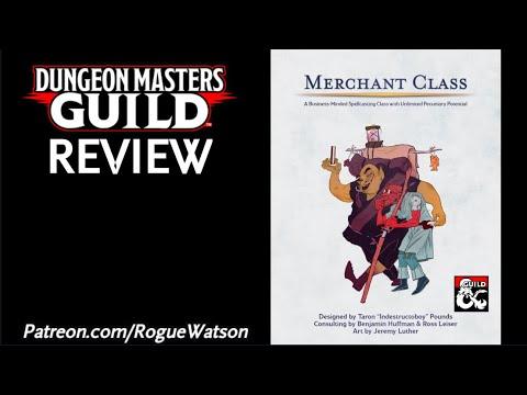 DMs Guild Review - Merchant Class