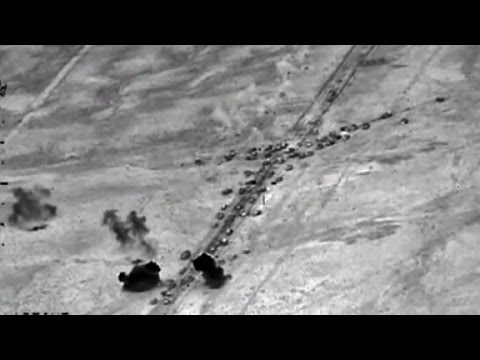 U.S. airstrikes hit ISIS convoys Mp3