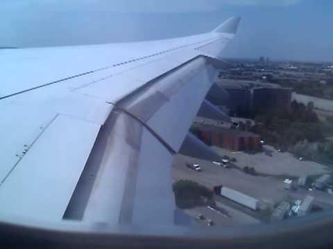 Lufthansa A340-600 Soft Landing Toronto
