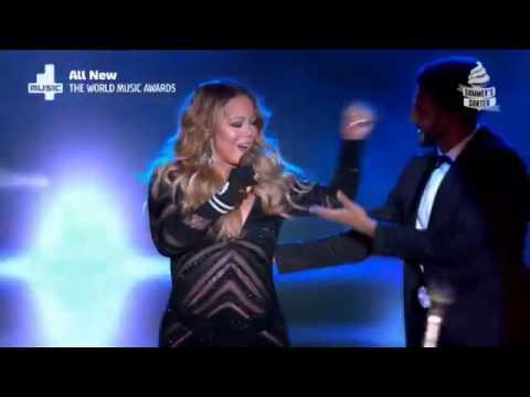Mariah Carey Meteorite  at The World Music Awards 2014