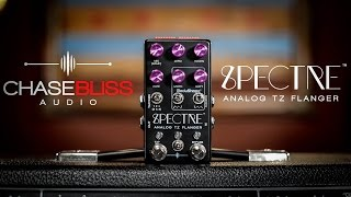 Chase Bliss Audio Spectre Analog Flanger Pedal Demo | CME First Look
