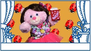 Cherry Bear and the Lady Bug Science Snacks