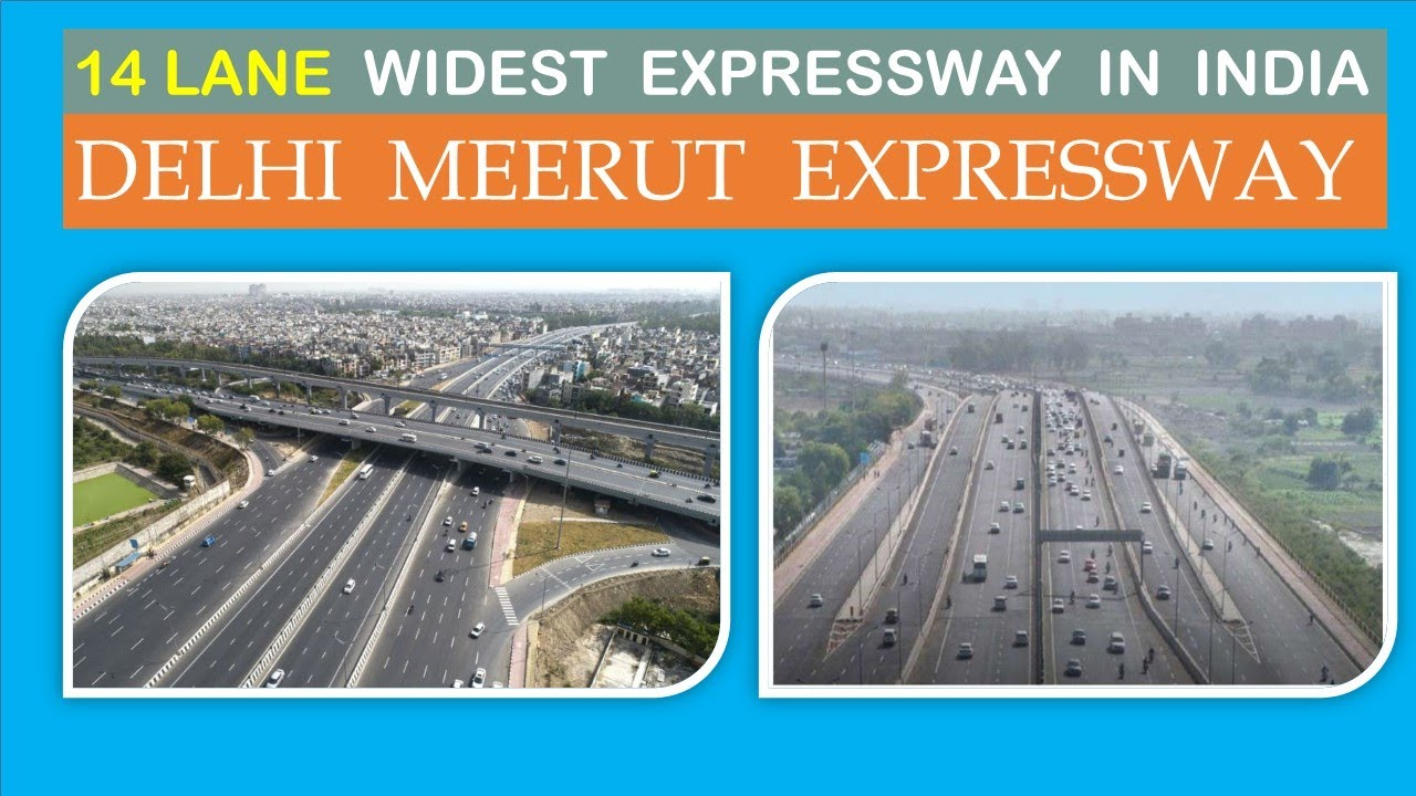 Delhi Meerut Expressway | Delhi Meerut Expressway update | Expressways in India l Papa Construction