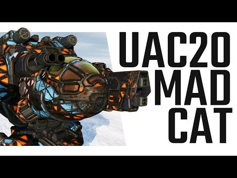 U-AC20 Mad Cat MKII is the BOMB! Mechwarrior Online The Daily Dose #480