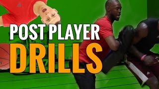 Must do basketball drills for power forwards and centers | post players, bigmen