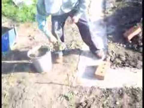 видео: Фундамент-БЕЗ ДОСОК Часть 1