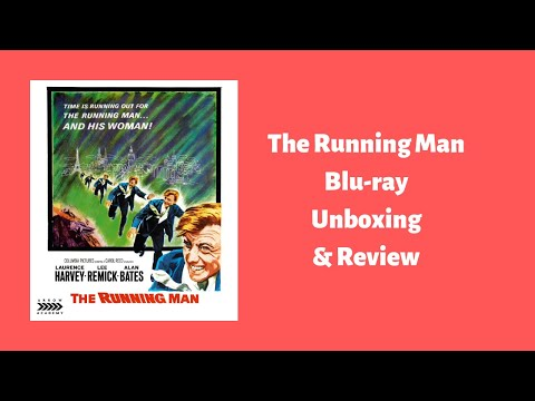 THE RUNNING MAN - ARROW ACADEMY BLU-RAY UNBOXING & REVIEW