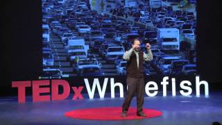 A breakthrough in regional mobility: John McGinnis at TEDxWhitefish