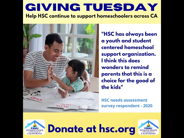 Giving Tuesday HSC 2020