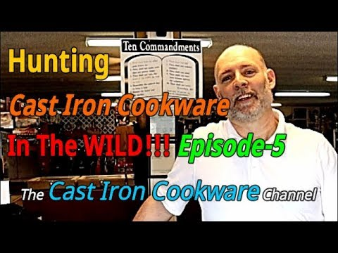 Hunting Cast Iron Cookware In The WILD!!! Episode-5