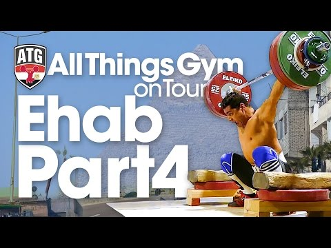 Mohamed Ehab 166kg Block Snatch PR❗️ATG on Tour in Egypt Part 4 of 7 Wednesday Afternoon