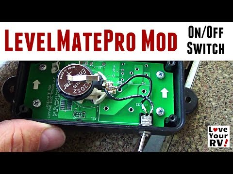 Modded My LevelMatePro - Added an On/Off Switch - YouTube