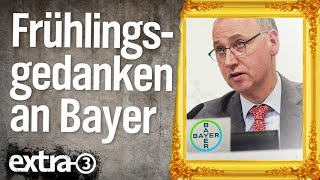 Mad in Germany: Frühlingsgedanken an Bayer