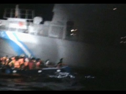 Greece Denies That Their Coast Guard Deliberately Tried To Sink A Syrian Refugee Raft