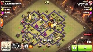 Clash of Clans - Centro de Vila 8 [CV8] - Torre Arqueira mitando