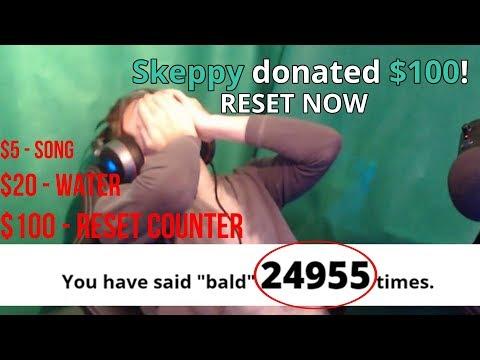 Saying 'BALD' 25,000 Times (RUINED)