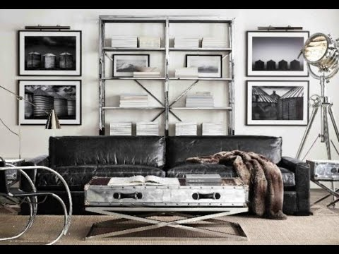 Inspiring and Stylish Industrial Living Room Designs YouTube