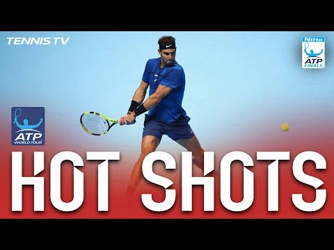 Hot Shot: Nadal Scrambles To Pull Off Backhand Pass Nitto ATP Finals 2017