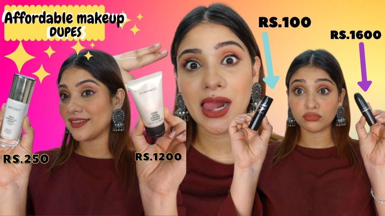 CHEAPEST DUPES OF MAC in India    shystyles