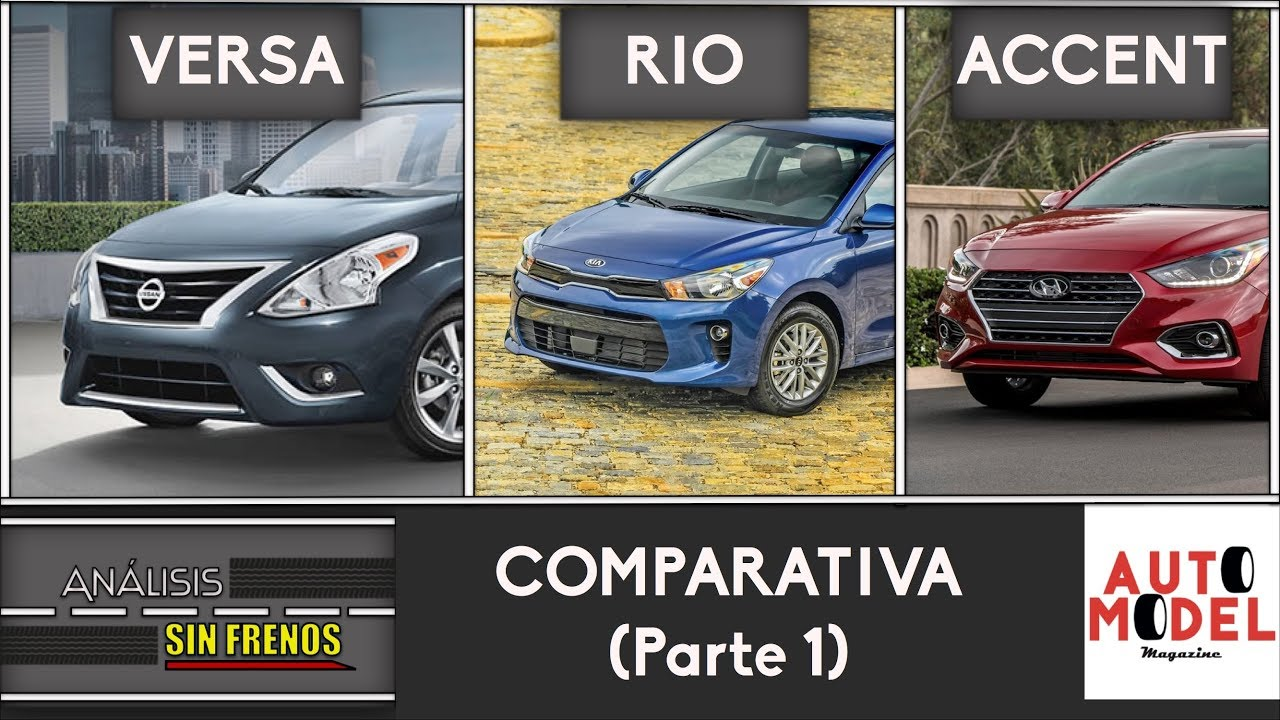 analisis sin frenos comparativa sedanes kia rio vs. Black Bedroom Furniture Sets. Home Design Ideas