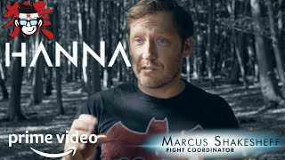HANNA SEASON 2: Behind the scenes interview with Marcus monkey on hanna fighting style.