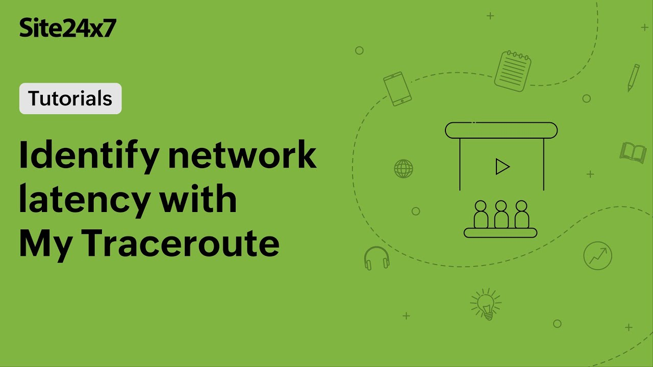 Identify latency in network route and troubleshoot issues with My Traceroute (MTR)