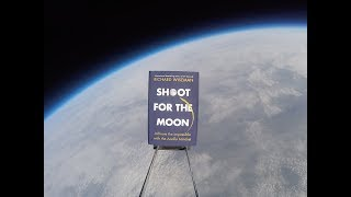 Launching a book into space!