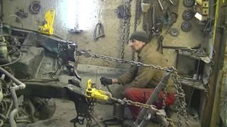 Honda CR-V . Кузовной ремонт Часть 2 .body repair