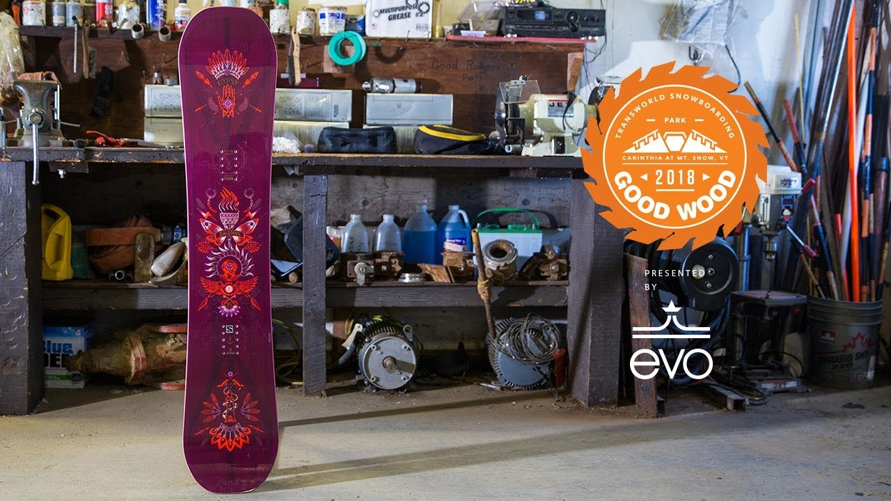 43839872ff05 Salomon Gypsy - Good Wood Snowboard Reviews   Best Women s Park Snowboards  of 2017-2018