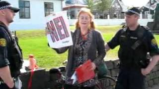 Helga Björk Magnúsdóttir Grétudóttir eftir handtöku