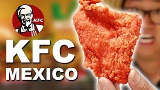 Download We ate EVERYTHING at KFC in Mexico 🇲🇽 Mp3 and Videos