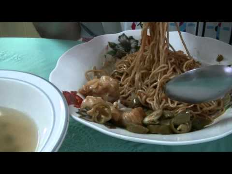 Best Wantan Noodles from a no name shop on Jalan Tranchell, Menglembu, ASMR