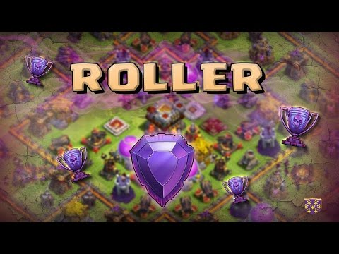 Le TOP PLAYER ' Roller ' attaque un TT Flingueurs en Légende   Clash Of Clans Fr