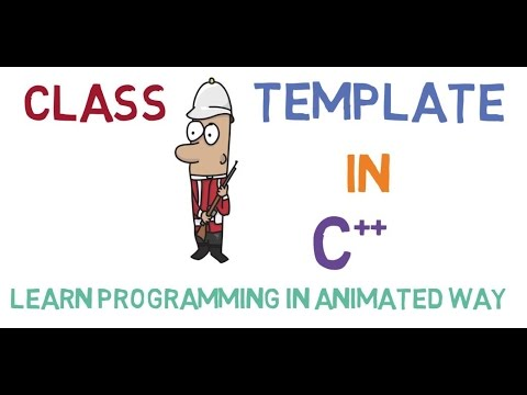 Class Template In C++ -54