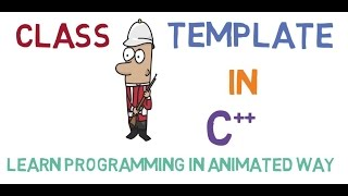 How to use template for Class in C++. What is the difference betwee...