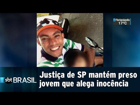 Exclusivo! Justiça de SP decide manter preso jovem que alega inocência | SBT Brasil (28/08/18)